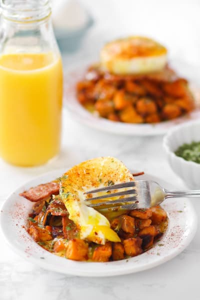 Sweet Potato Benedict Skillet Picture