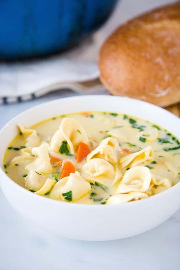 File 1 - Creamy Chicken Tortellini Soup