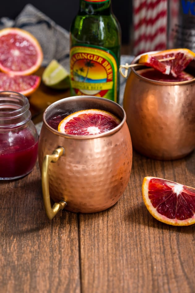 Blood Orange Mule Picture