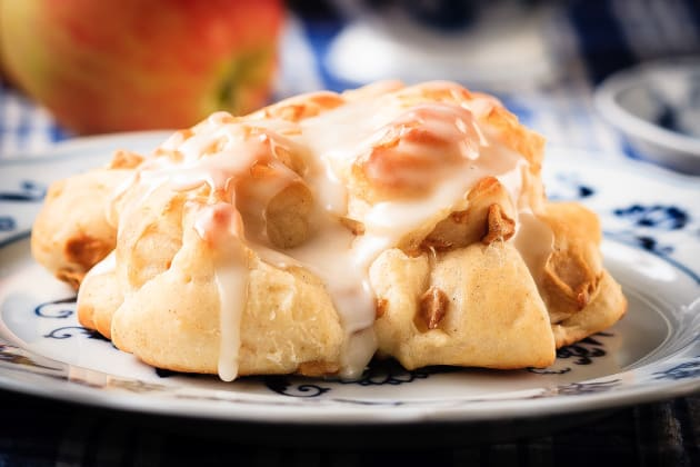 Baked Apple Fritters Photo