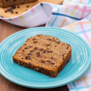 Gluten free chocolate chip banana bread photo