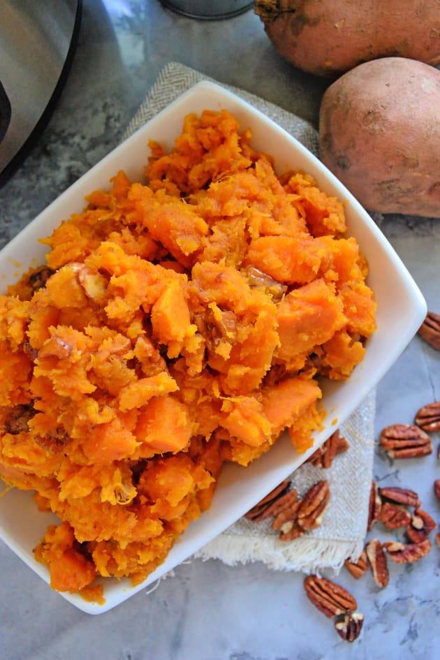 Instant Pot Candied Sweet Potatoes Picture