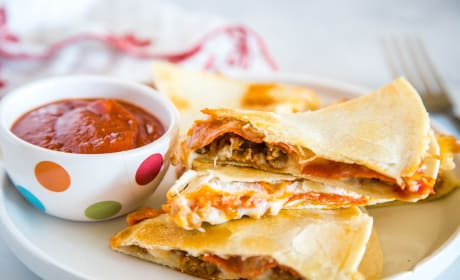 Pizza Quesadilla Photo