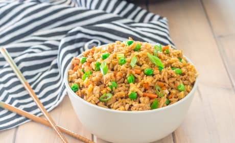Gluten Free Turkey Fried Rice Photo