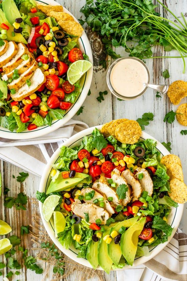 Chicken Taco Salad Image