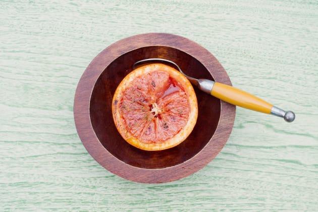 Broiled Grapefruit Photo