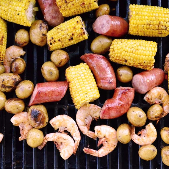 Grilled Shrimp Boil Photo