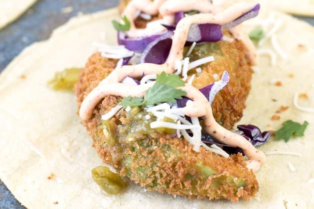 Fried Avocado Tacos Photo
