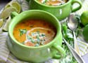 Instant Pot Coconut Curry Lentil Tomato Soup