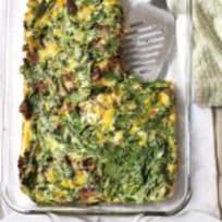 Brisket + Spinach Breakfast Bake
