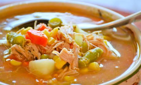 Turkey Vegetable Soup Recipe
