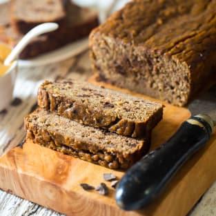 Paleo banana bread photo