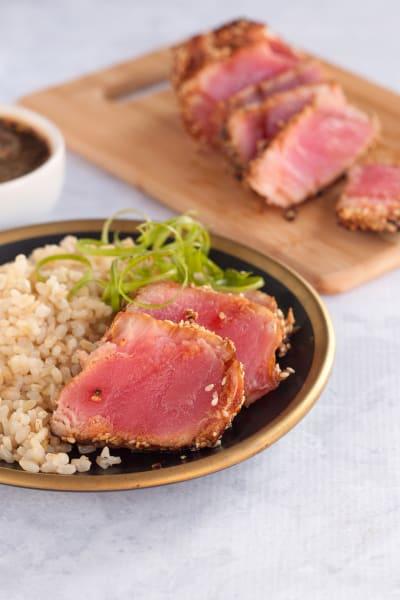 Seared Ahi Tuna Steaks Picture