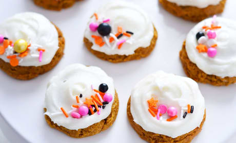 Gluten Free Pumpkin Cookies with Cream Cheese Frosting Recipe