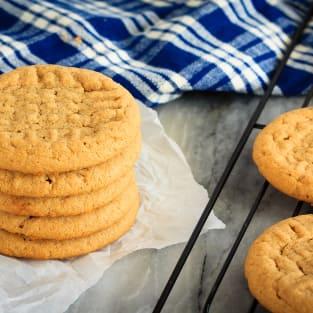 3 ingredient peanut butter cookies photo