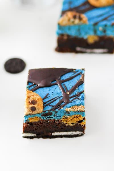 Cookie Monster Brownies Image