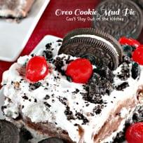 Oreo Cookie Mud Pie