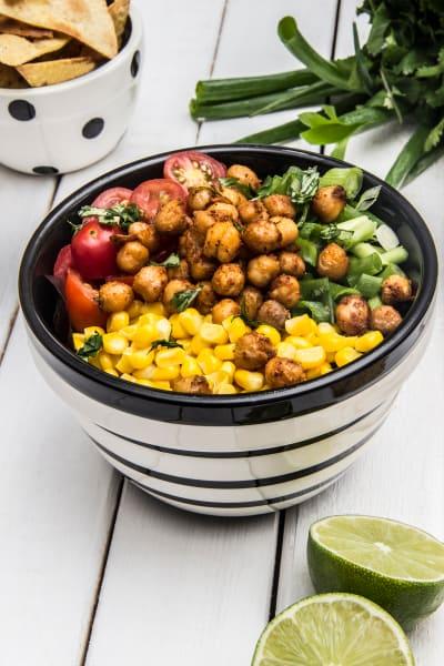 Avocado Lime Roasted Chickpea Salad Image