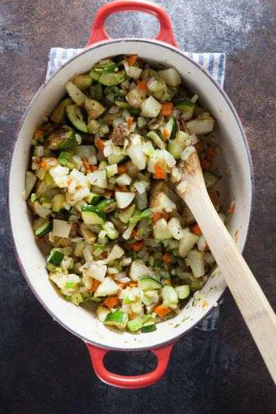 Roast Vegetable Soup Image