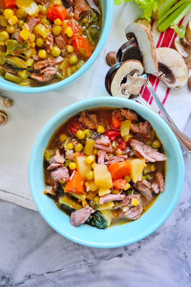 Instant Pot Vegetable Beef Soup Pic