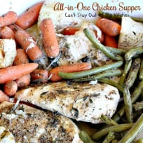 All-in-One Chicken Supper