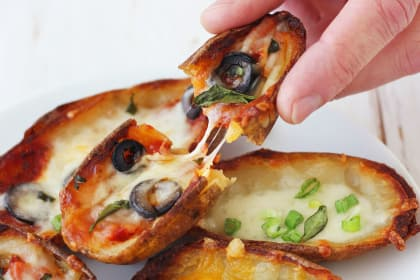 Toaster Oven Potato Skins