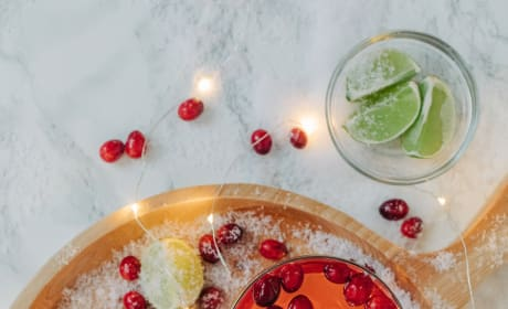 Cranberry Gimlet Recipe Photo