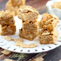 Peanut Butter Cinnamon Toast Crunch Fudge Recipe
