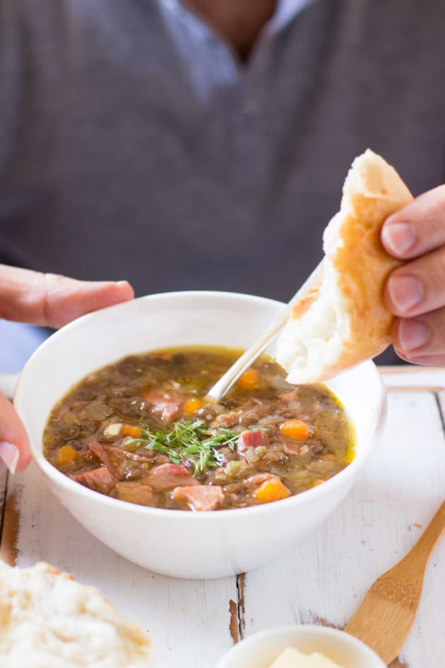 German Lentil Soup Image