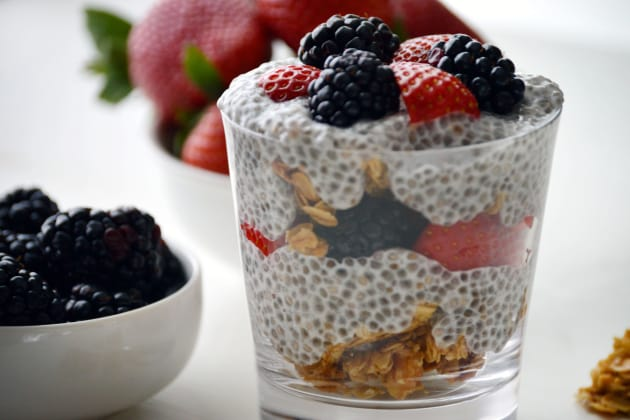 Chia Seed Parfait Photo