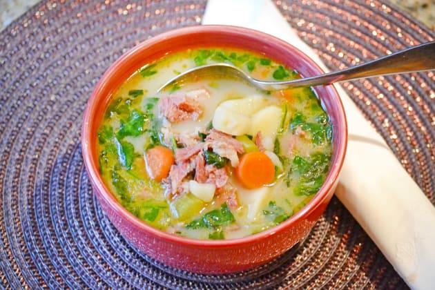 Ham Potato Soup Photo