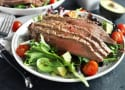 Miso Marinated Steak Salad with Avocado Recipe