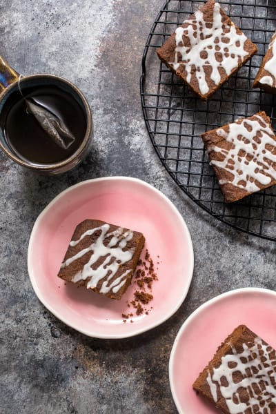 Spiked Gingerbread Bars Pic