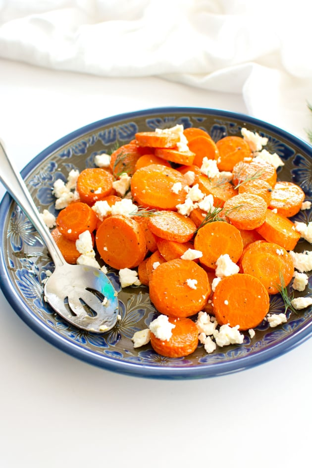 Roasted Carrots with Feta Image