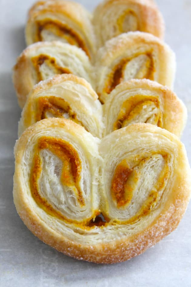Pumpkin Spice Palmiers - Food Fanatic
