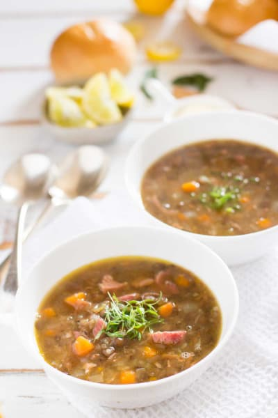 German Lentil Soup Pic