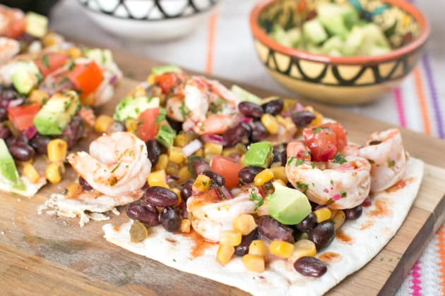 Southwestern Shrimp Flatbread Photo
