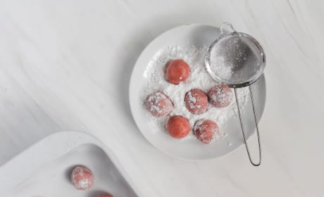 Strawberry Truffles Photo