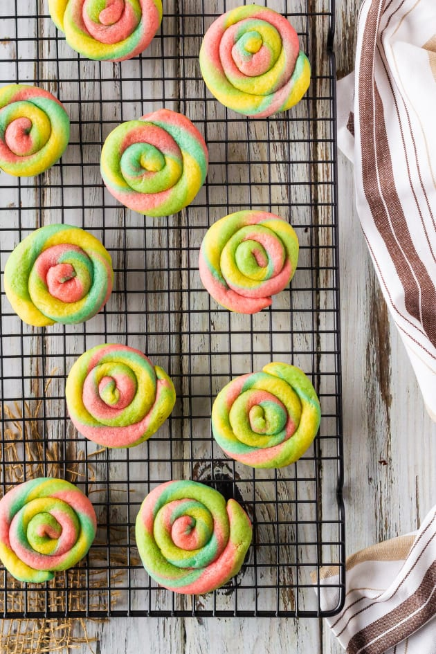 Rainbow Cream Cheese Cookies Picture
