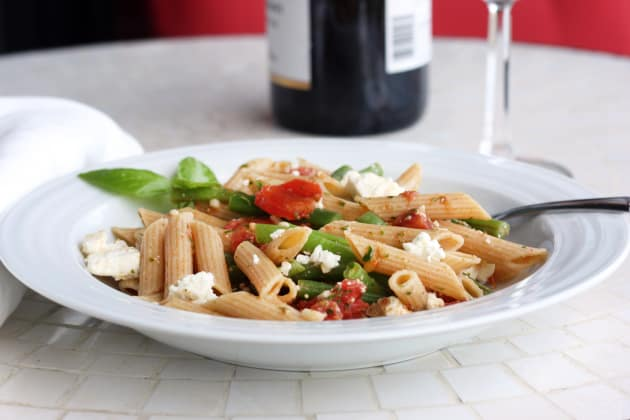 Pasta with Green Beans Photo