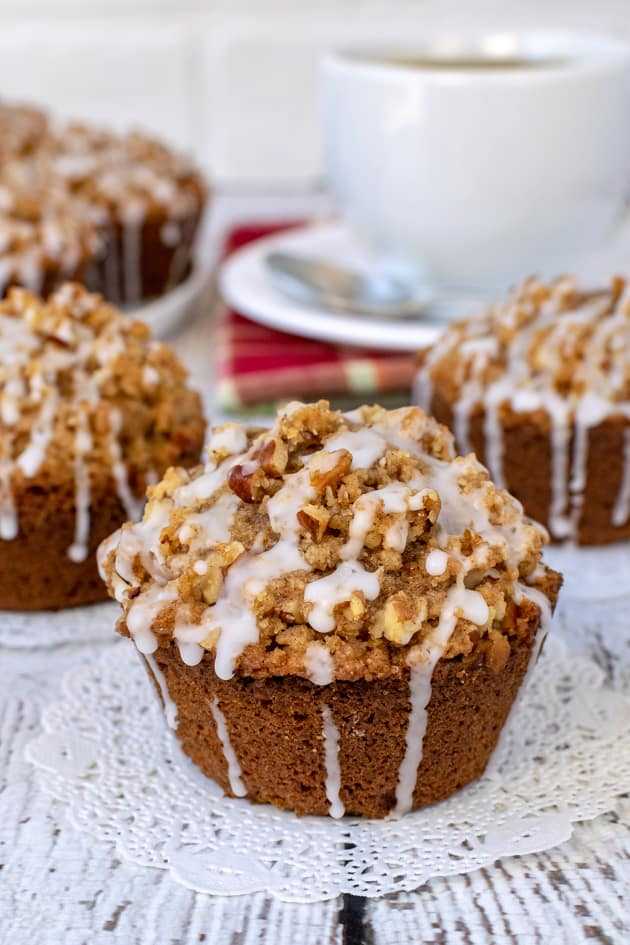 Apple Pecan Streusel Muffins Pic