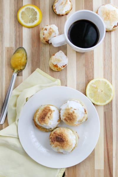 Lemon Meringue Donuts Picture