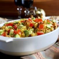 Green Chile Cornbread Stuffing Recipe