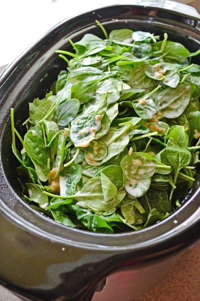 Slow Cooker Creamed Spinach Picture