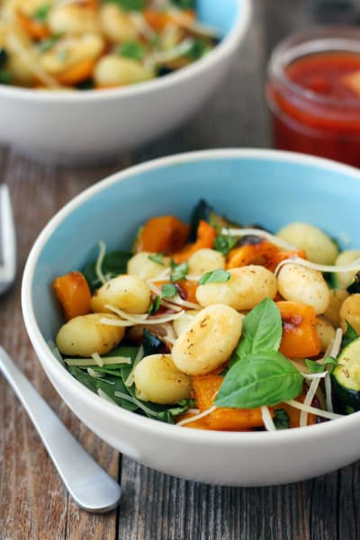 One Pan Roasted Gnocchi and Vegetables Pic