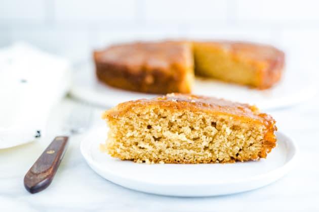 Gluten Free Apple Upside-Down Cake Photo