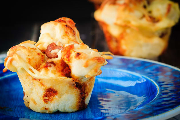 Pull Apart Pizza Muffins Image