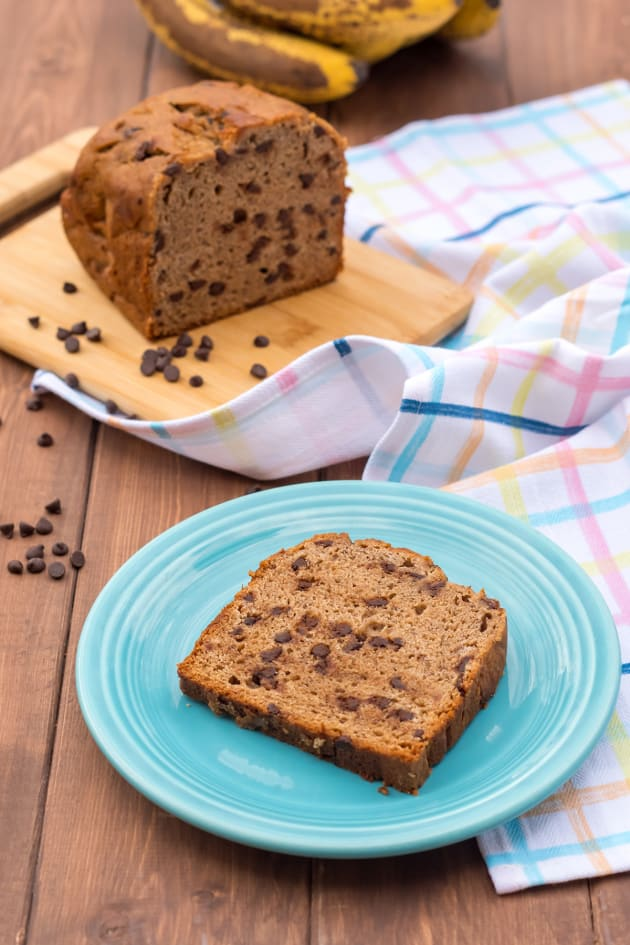 Gluten Free Chocolate Chip Banana Bread Image