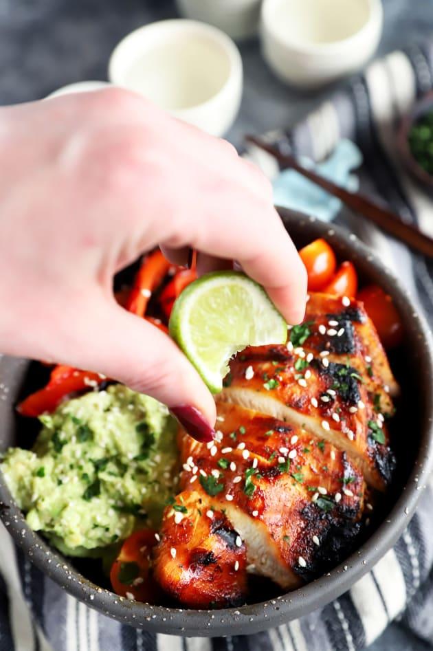 Korean Spicy Chicken Rice Bowls Picture
