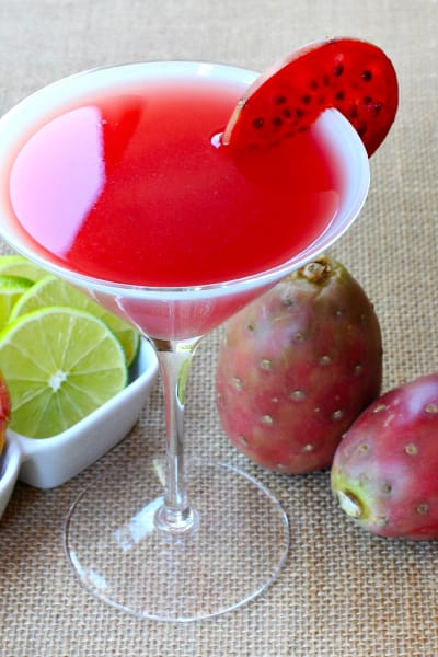 Prickly Pear Martini Picture